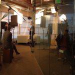 Glass Windows Lit Studio