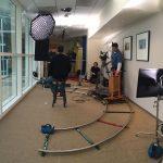 Camera Wheeling in Hallway