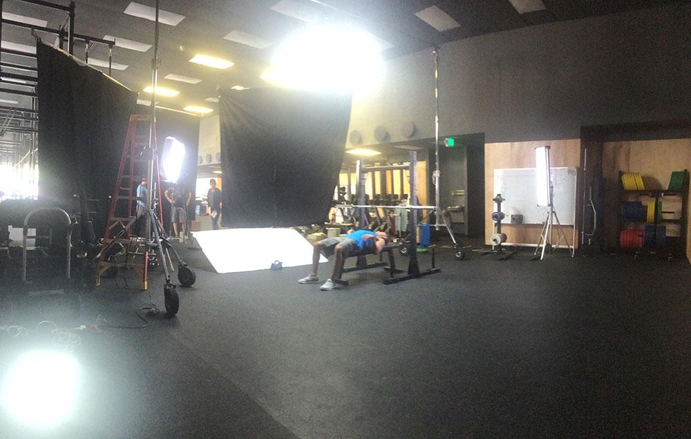 Lit Gym Space