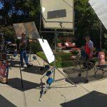 Outdoor Studio Setup