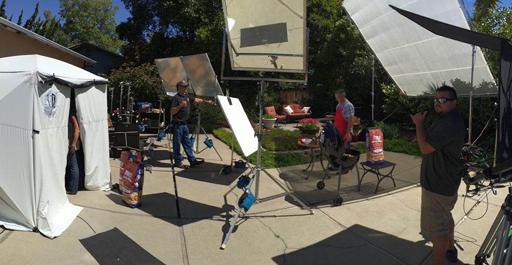 Outdoor Studio Setup