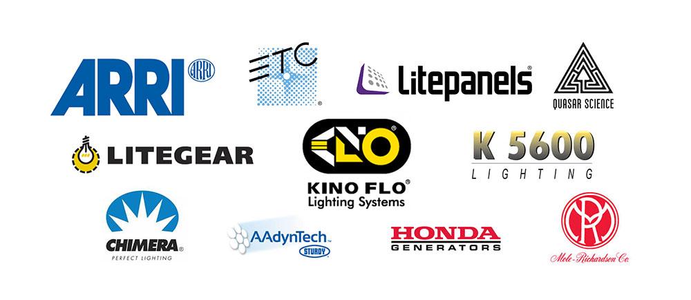 Multiple Lighting Brand Logos